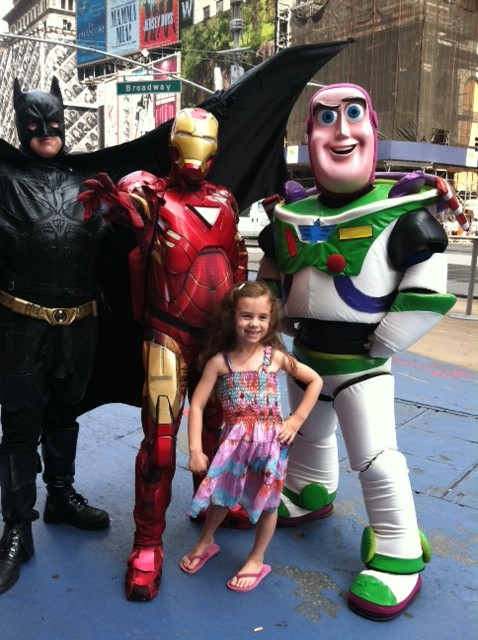 Virginia Franks Time Square