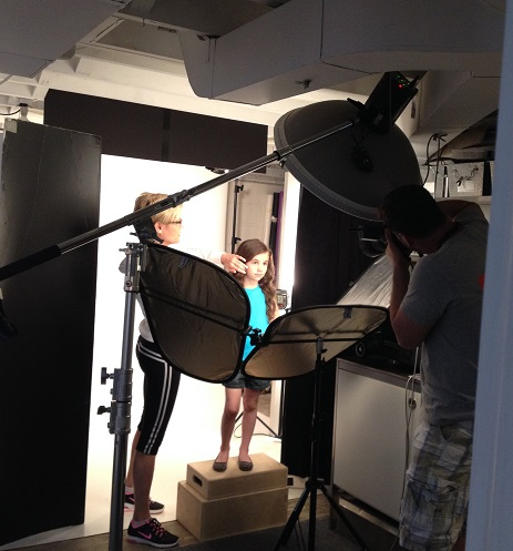 Virginia Franks photo shoot